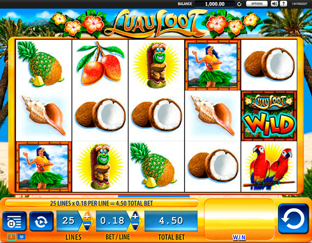Luau Loot Slot Review