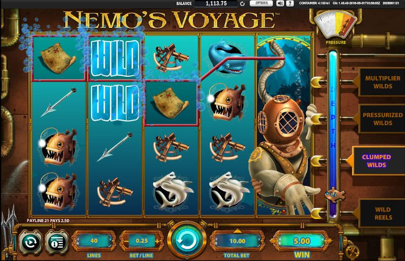 Nemos Voyage Slot Review