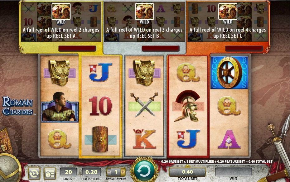 Roman Chariots Slot Review