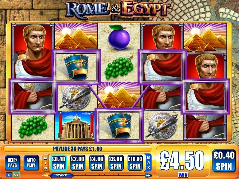Rome Egypt Slot Review