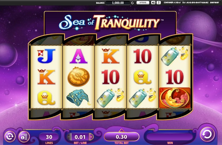 Sea Of Tranquility Slot Review