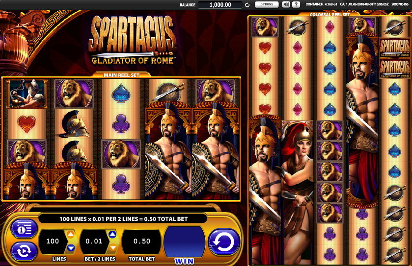 Spartacus Gladiator Of Rome Slot Review