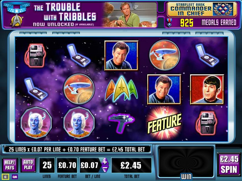 Star Trek Explore New Worlds Slot Review