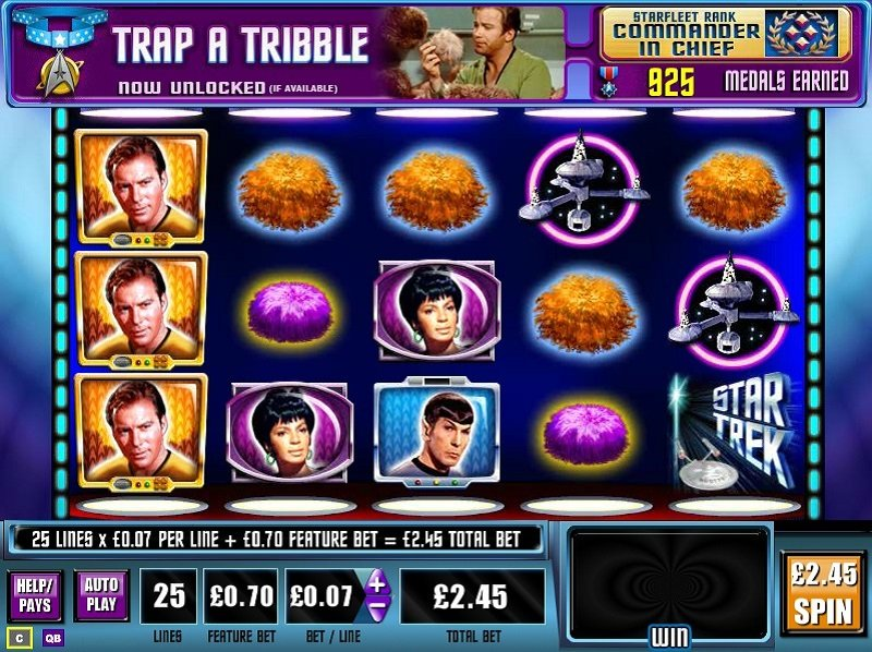 Star Trek The Trouble With Tribbles Slot Review