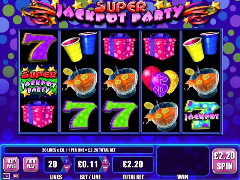 Super Jackpot Party Slot Review