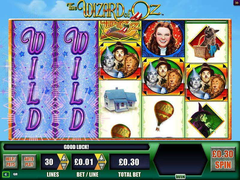 The Wizard Of Oz Slot Review